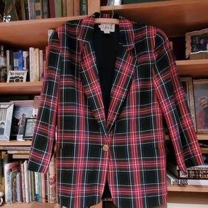 Vintage oversized Plaid jacket